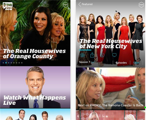 watch TV shows on iPhone