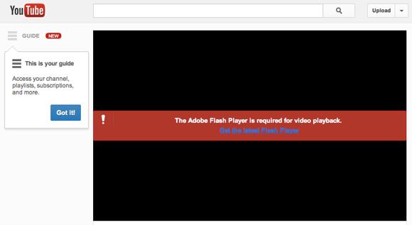 Adobe Flash Player Windows 10 Error Messages For Firefox