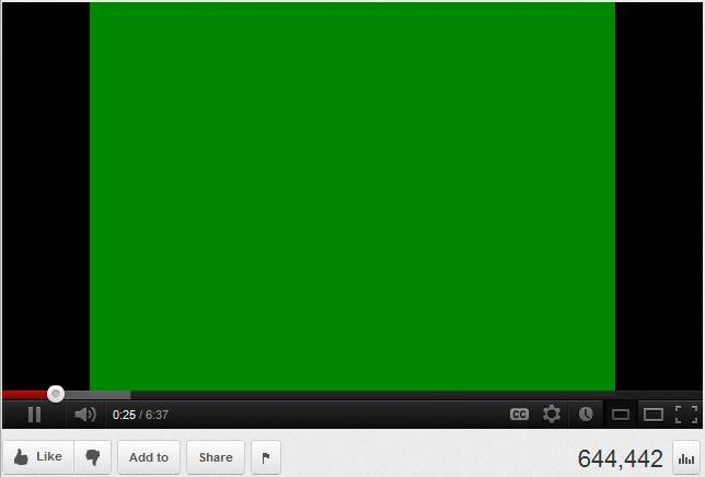 youtube green screen android