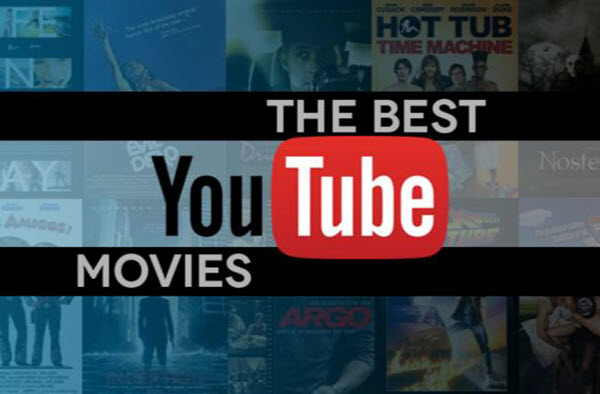 Watch free movies without downloading them. Youtube.