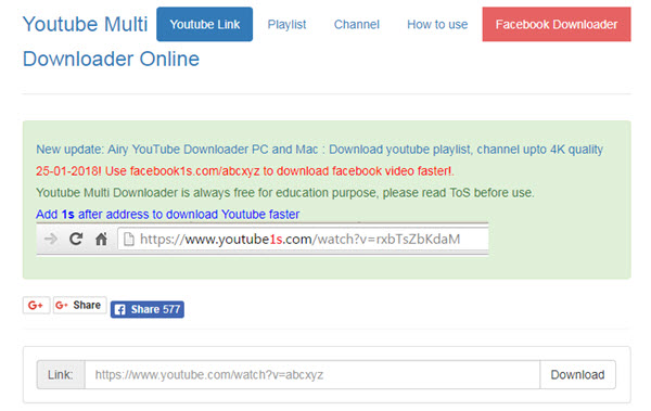 websites for downloading videos