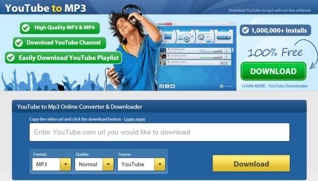 Youtube Downloader - Convert to 320kbps MP3 Songs or Playlist