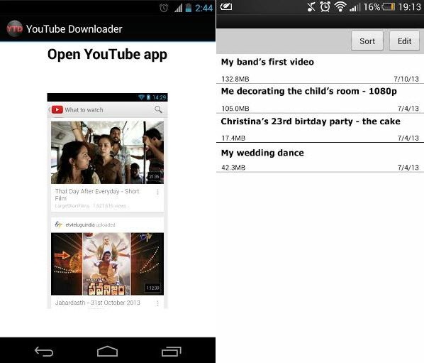 best app for youtube video download