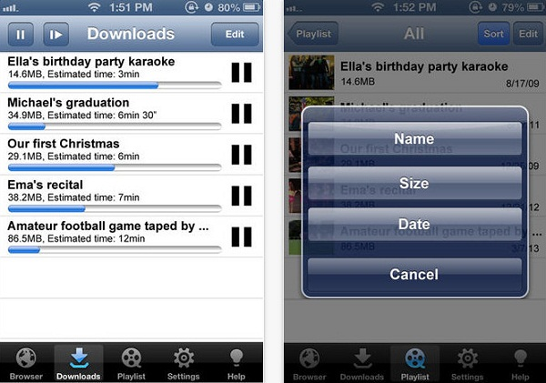 Top 10 kostenlose iPhone Apps zum Video downloaden auf